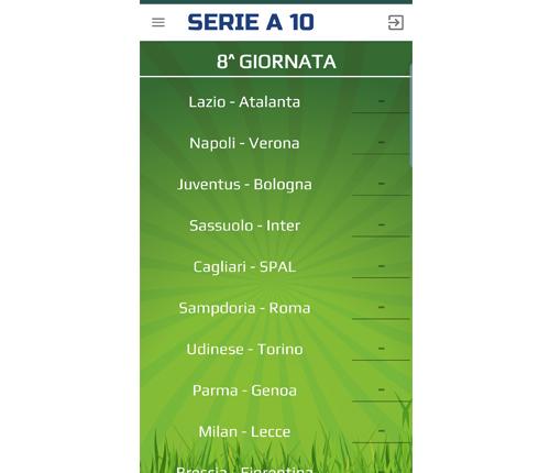 App Serie A10